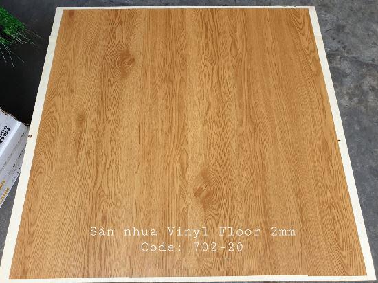 Sàn nhựa giả gỗ Vinyl Floor 702