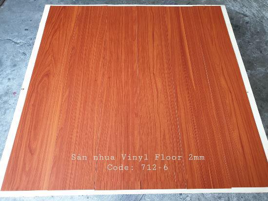Sàn nhựa giả gỗ Vinyl Floor 712-6