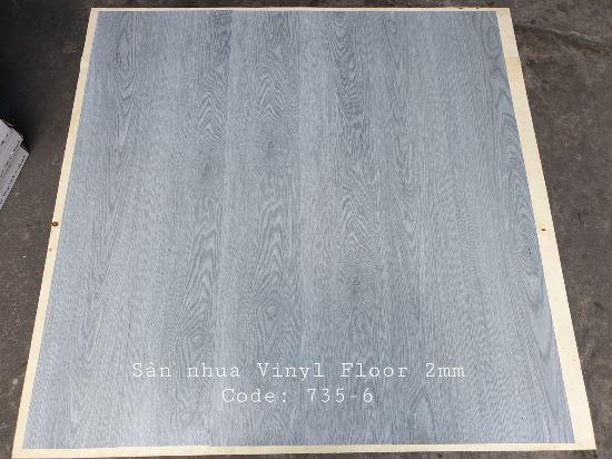 Sàn nhựa giả gỗ Vinyl Floor 735-6
