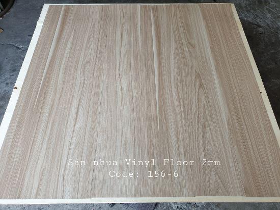 Sàn nhựa giả gỗ Vinyl Floor 156-6