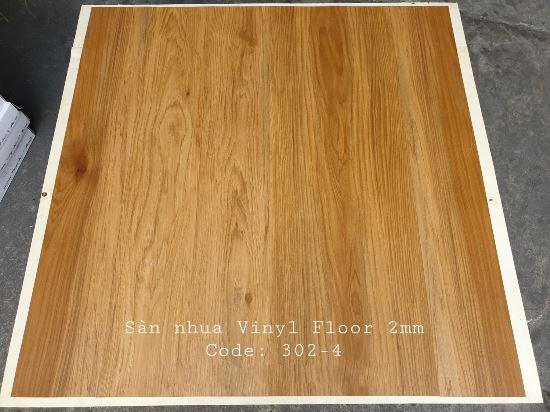 Sàn nhựa giả gỗ Vinyl Floor 302-4