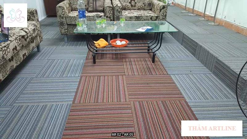 thảm gạch artline ar05 cho văn phòng