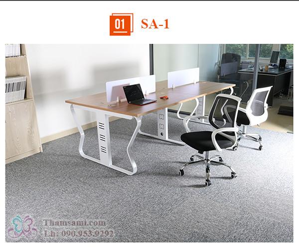 Thảm tấm một màu SA-1