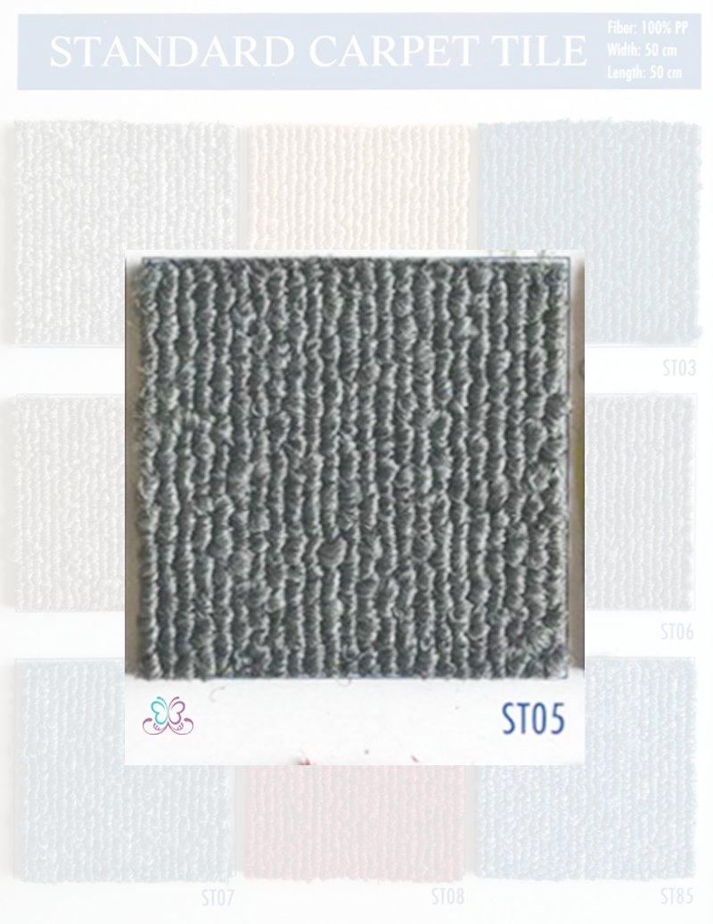 mã màu xám thảm tấm standard st05 - thamsami.com