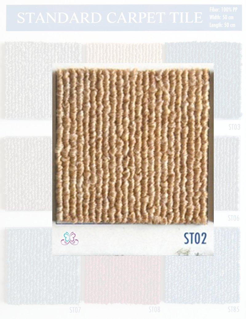 mã st03 màu vàng thuộc dòng thảm tấm standard
