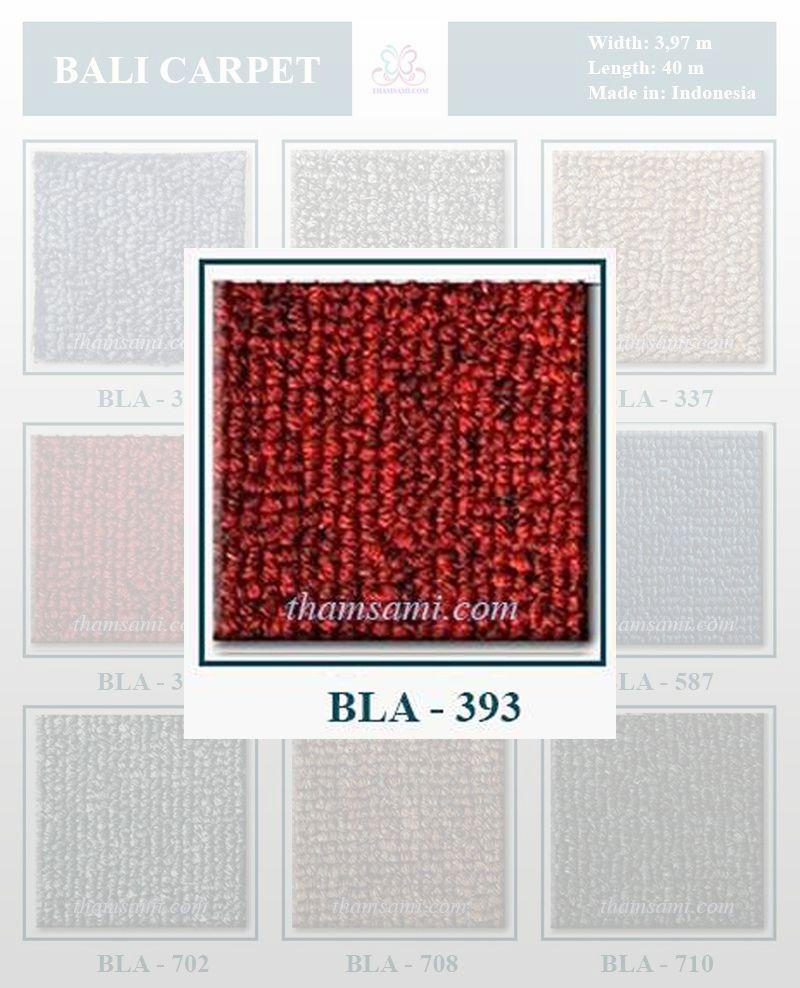 mã màu thảm cuộn bali 393 - thảm cuộn màu đỏ