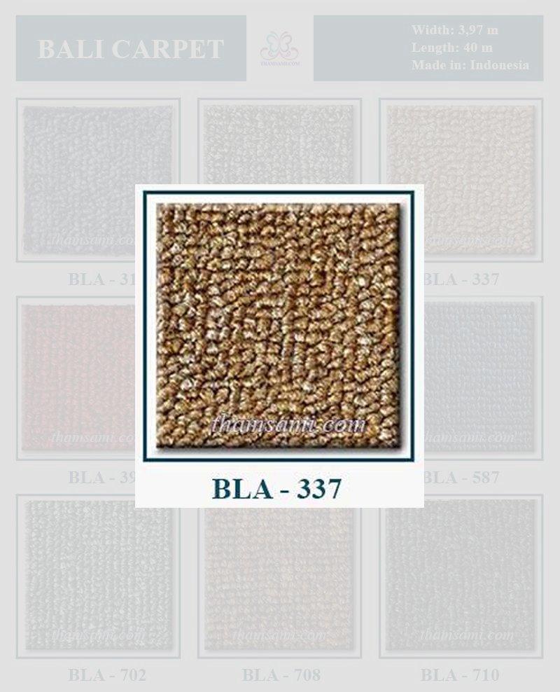 Thảm cuộn bali 337 là thảm màu vàng
