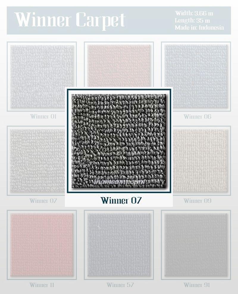 thảm màu ghi - mã màu thảm cuộn Winner 07