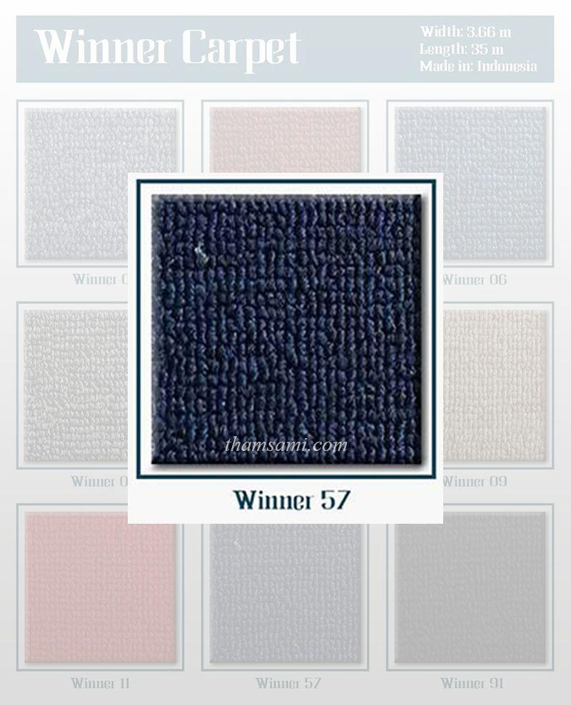 Mã thảm cuộn Winner 57 có màu xanh đậm