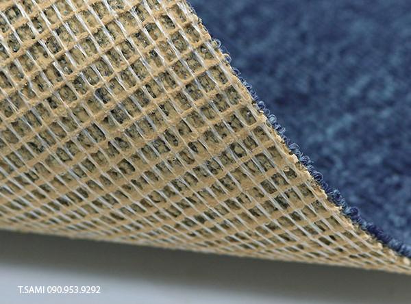 Đế thảm làm bằng nhựa đan dạng lưới