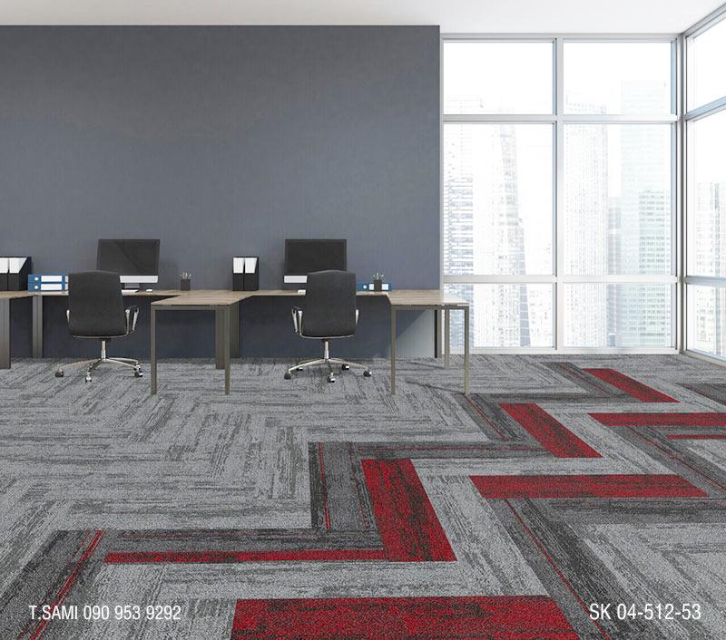 Thảm tấm skywalk làm thảm văn phòng