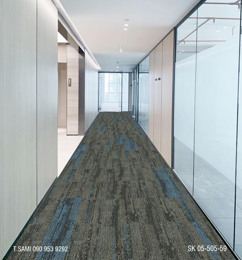 Thảm tấm sk05 sử dụng làm thảm hành lang cho gia đình