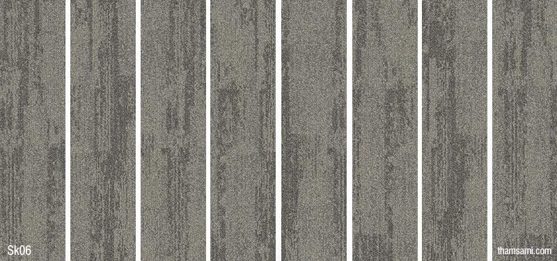 Bảng hoa văn mã màu sk06 - thảm tấm skywalk