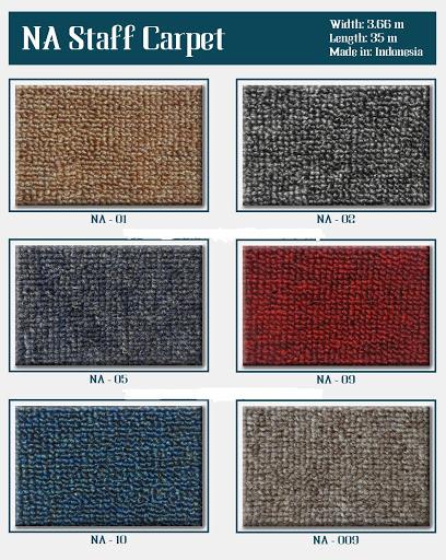 Bảng màu thảm cuộn Na