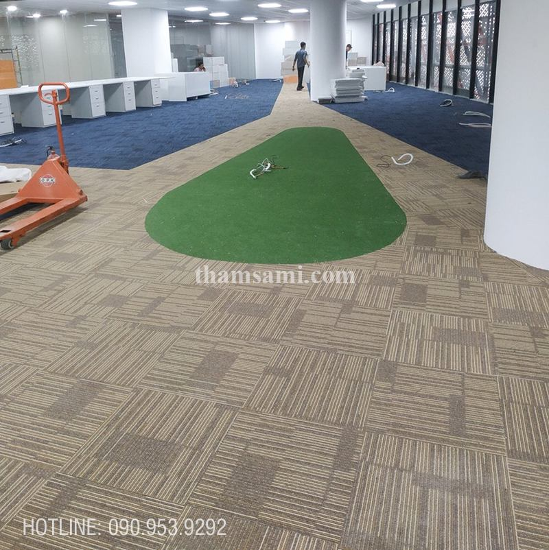 thảm tấm trải sàn đế cao su