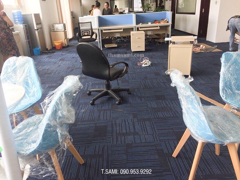 thảm tấm đế cao su 50x50cm