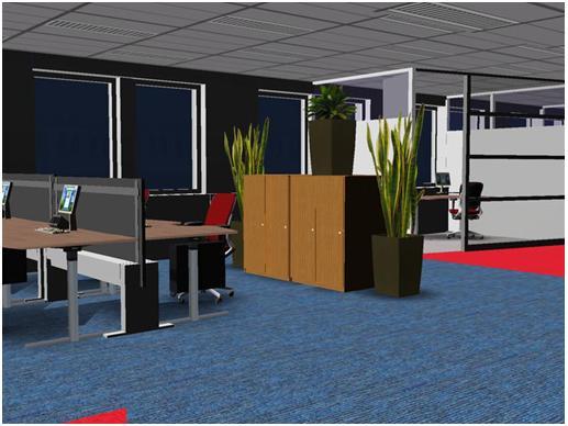 Thảm trải sàn văn phòng - lựa chọn thông minh cho mọi doanh nghiệp