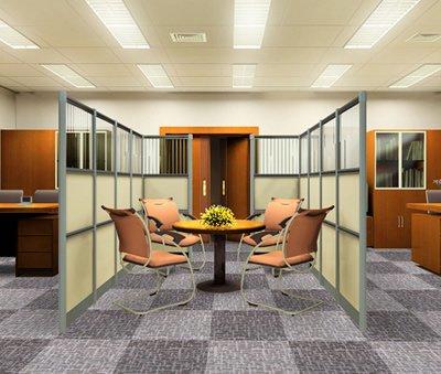 Chọn thảm trải sàn văn phòng giúp nới rộng không gian