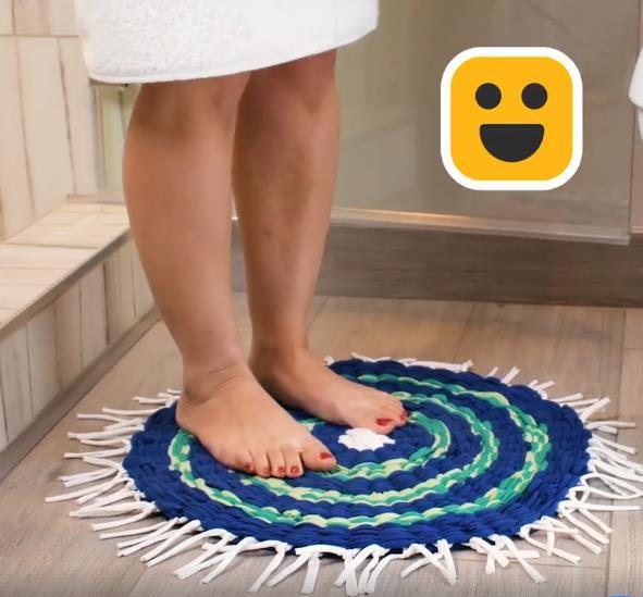 Thêm cách biến tấu thảm trải sàn cũ thành thảm mới cho ngôi nhà thêm tươi tắn