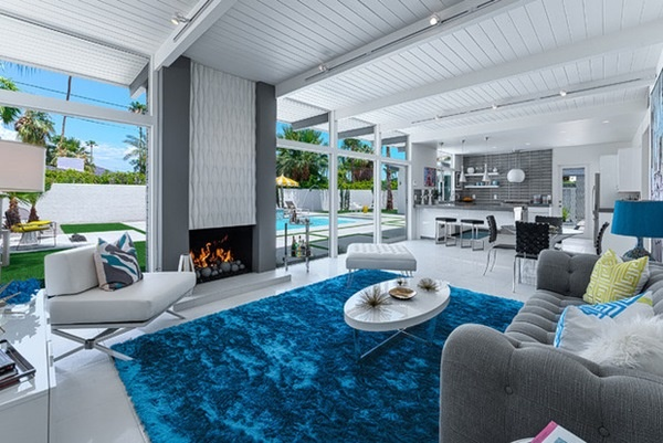 Mách bạn bí quyết chọn thảm trải sàn cho nhà màu trắng