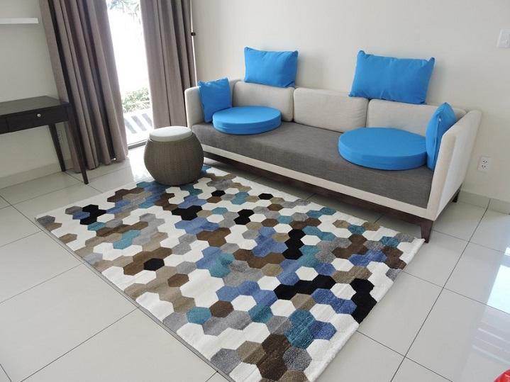 Xu hướng chọn thảm trải sàn sofa năm 2018