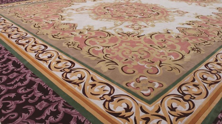 Thảm len dệt tay hoa văn tạo nhiều phong cách cho thiết kế không gian