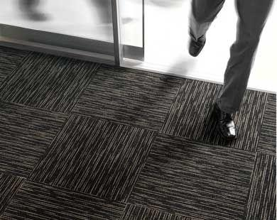 Lựa chọn thảm gạch màu đen cho những không gian nào