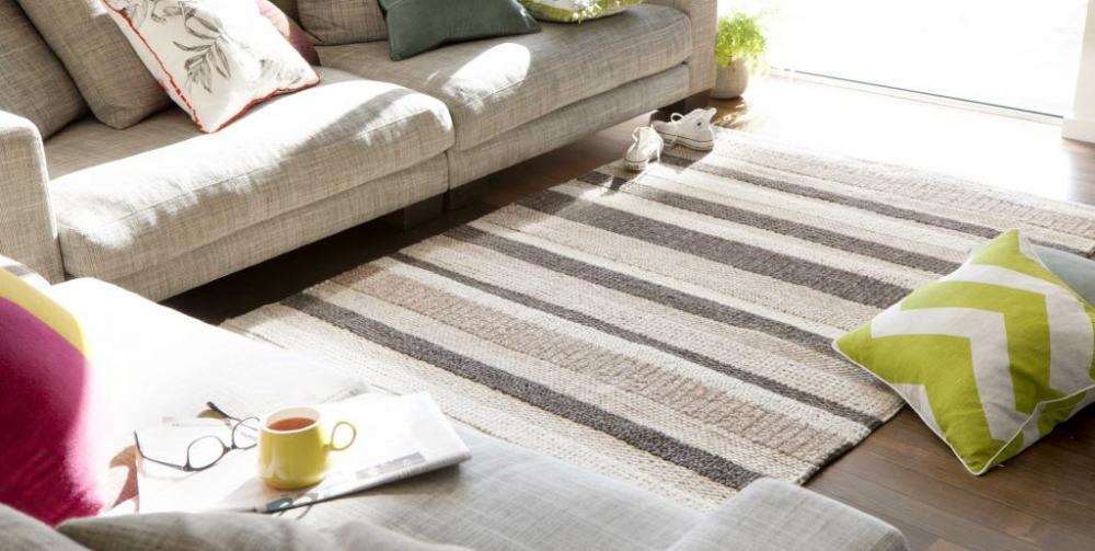 Ưu điểm của thảm trải sàn sofa bằng len