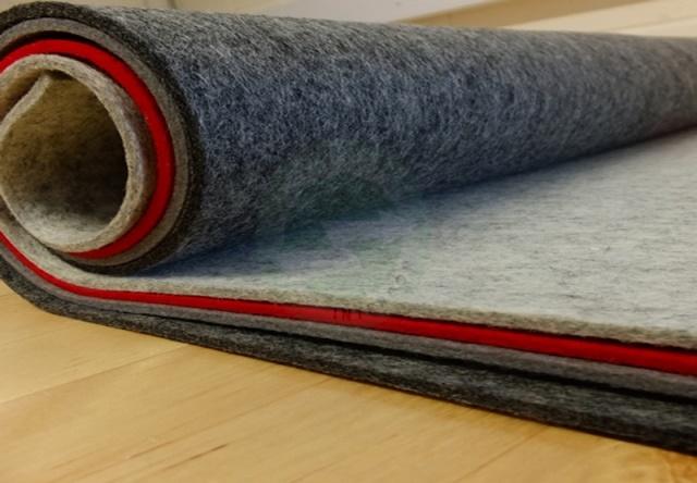 Các loại chất liệu của lớp thảm lót sàn