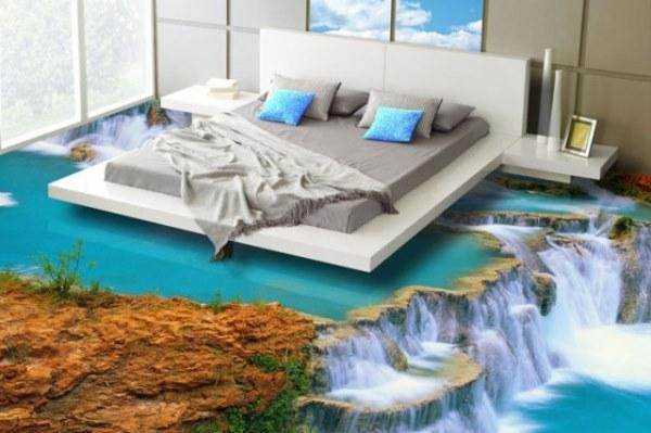 Thảm trải sàn 3D phù hợp với những không gian trải thảm nào