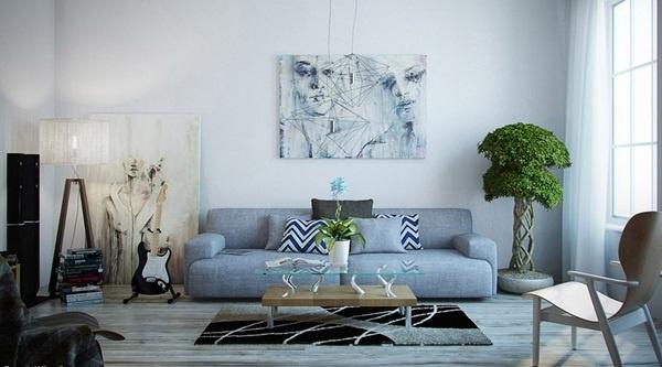Cách chọn thảm trải sàn phòng khách mùa đông phù hợp nhất