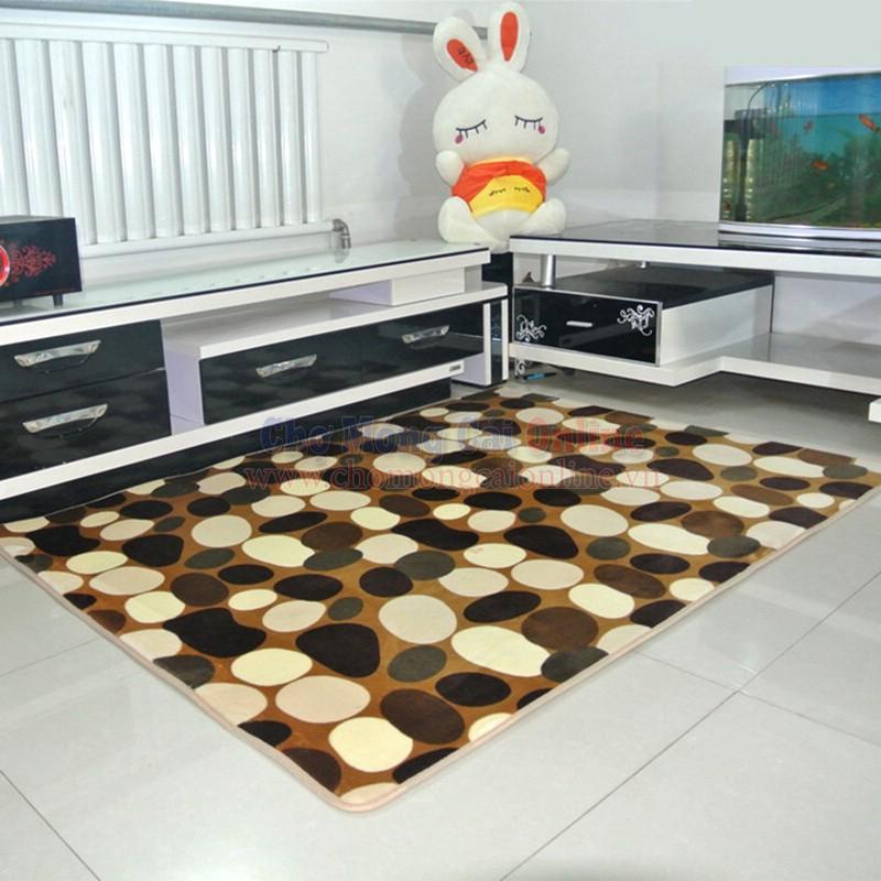 Chọn thảm trải sàn hoa văn phù hợp với từng không gian