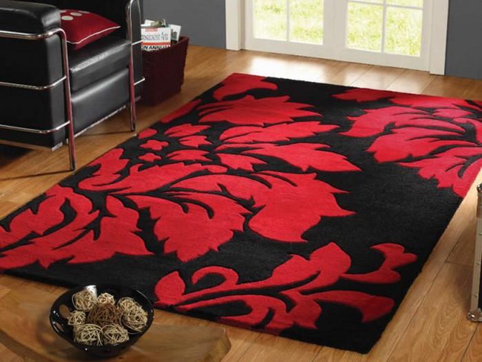 Lưu ý cần biết khi mua thảm trải sàn màu đỏ cho mùa đông
