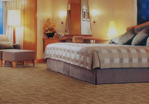 Ưu điểm thảm sợi tự nhiên trải phòng ngủ khách sạn