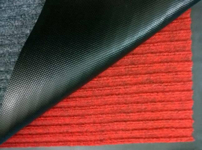 Bảng màu thảm chùi chân đế cao su sợi len bền đẹp