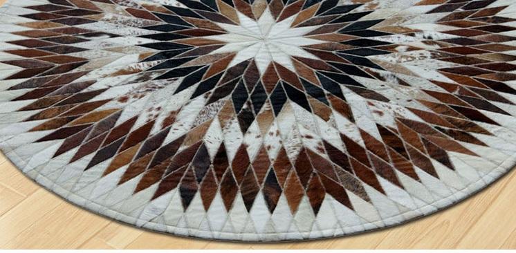 Top những mẫu thảm tròn trang trí phong khách được yêu thích nhất hiện nay