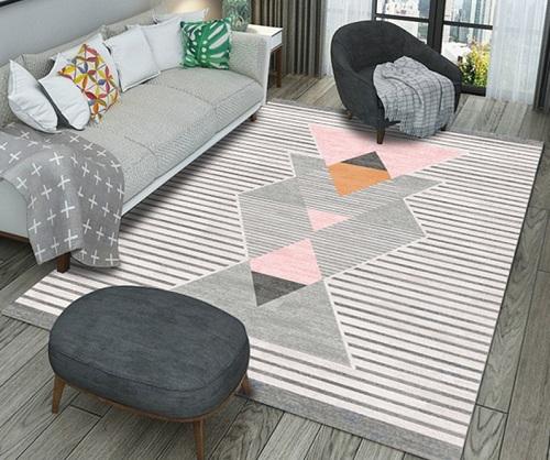 Mẹo lựa chọn thảm trang trí phù hợp với không gian trải thảm