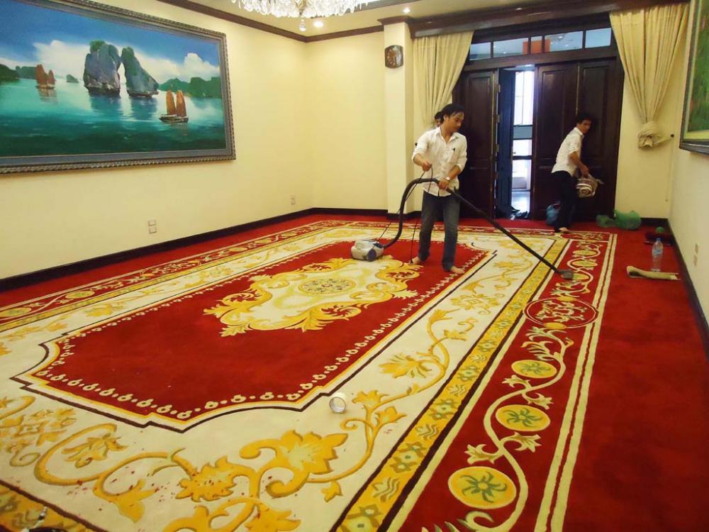 Các cách dệt thảm phòng ngủ khách sạn