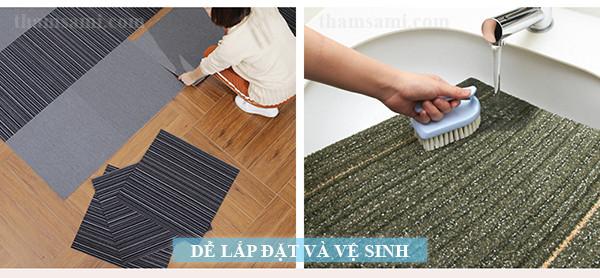 Bao lâu thì nên giặt thảm trải sàn