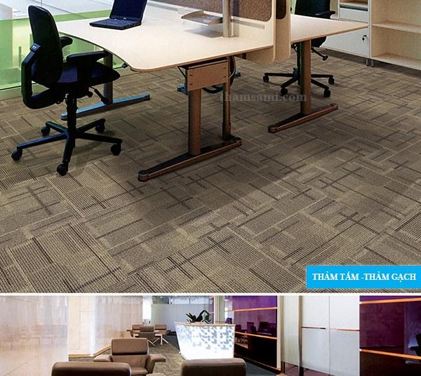 Thảm công trình nên dùng thảm gạch hay thảm cuộn