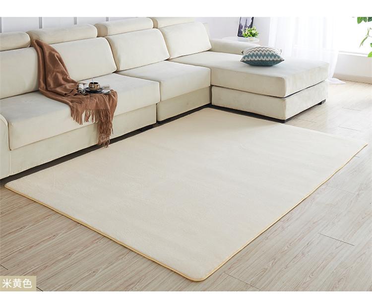 Hướng dẫn chọn thảm trải sàn dưới sofa phù hợp với diện tích phòng khách